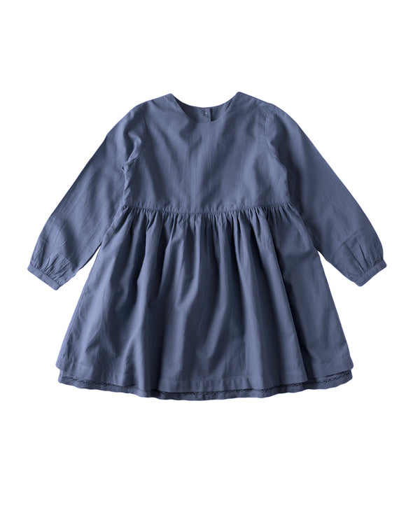 Maud dress - Juniper blue