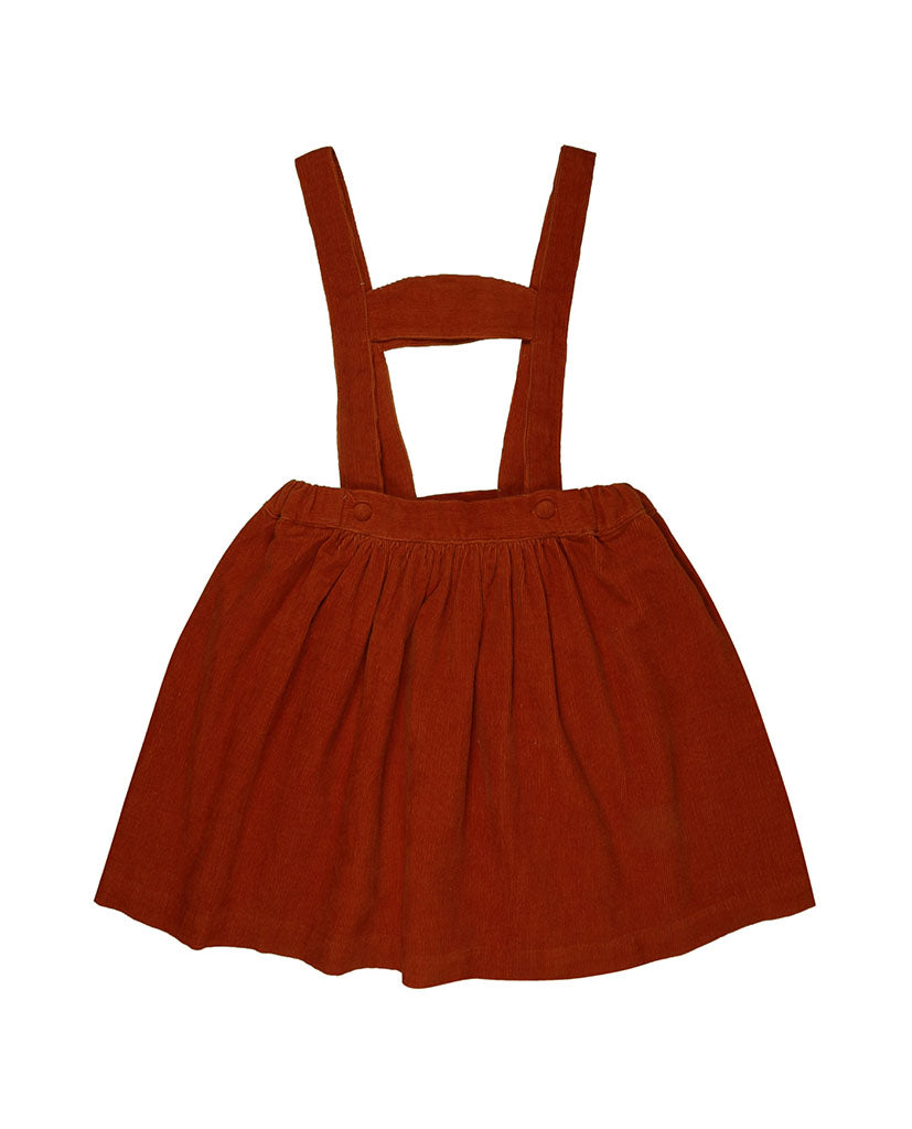 Heidi skirt - rust needlecord