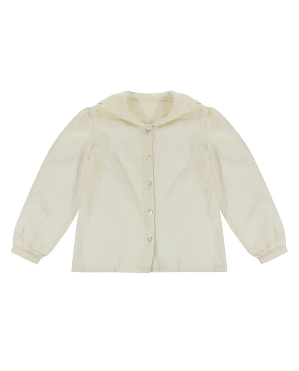 Sidonie Sailor Blouse  - chalk