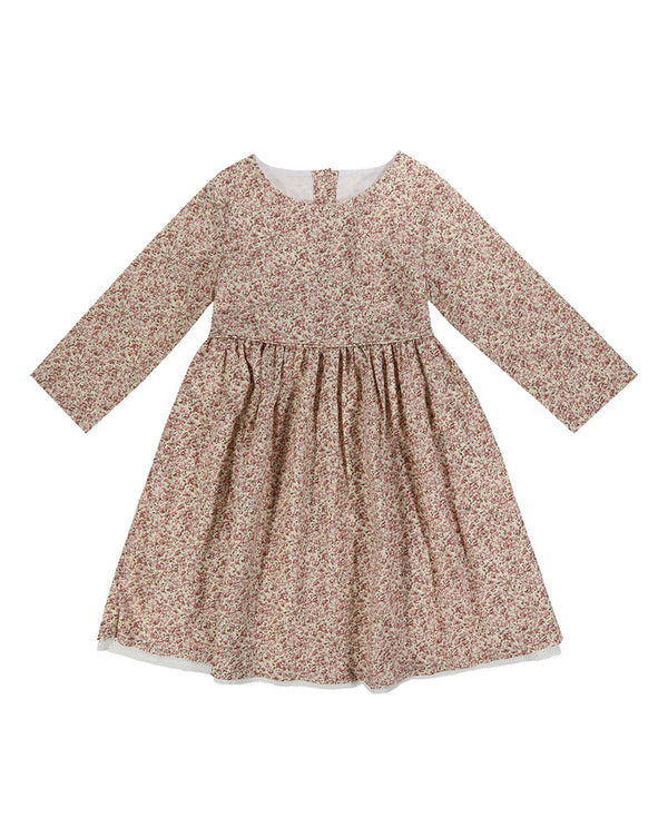 Grace Dress - vintage rose floral