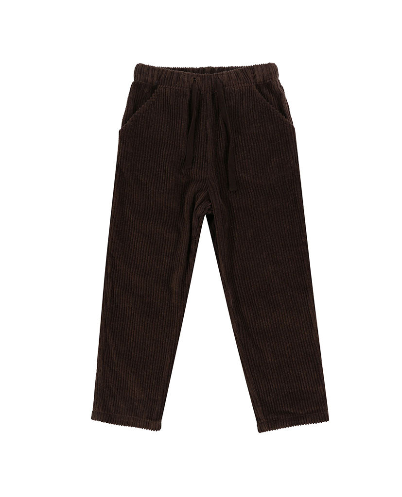Tenby Trousers - chocolate chunky cord