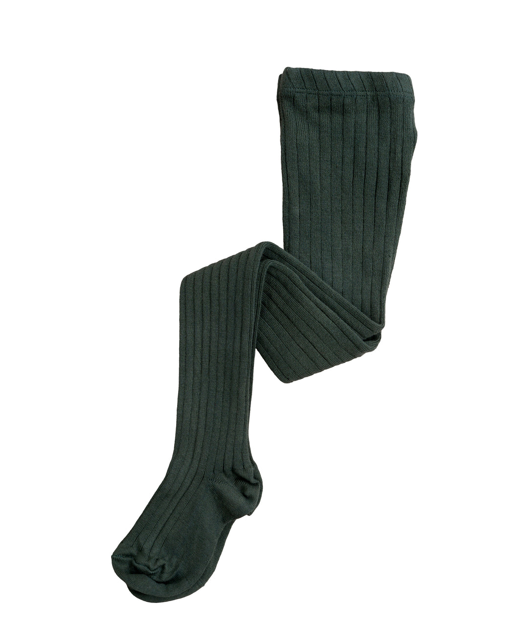 Ribbed Tights - forest green *NEW*
