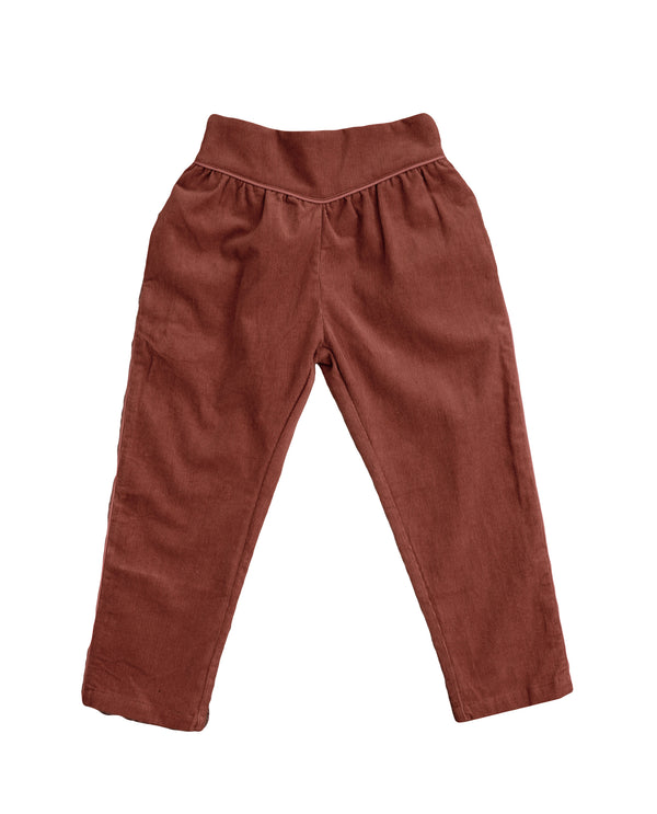 Aria trousers – clay corduroy
