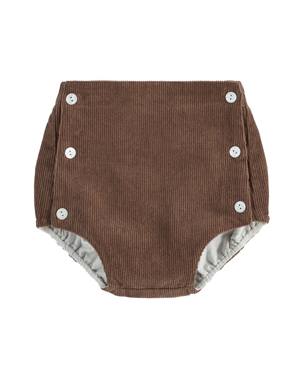 Folkestone button front bloomers - nut corduroy