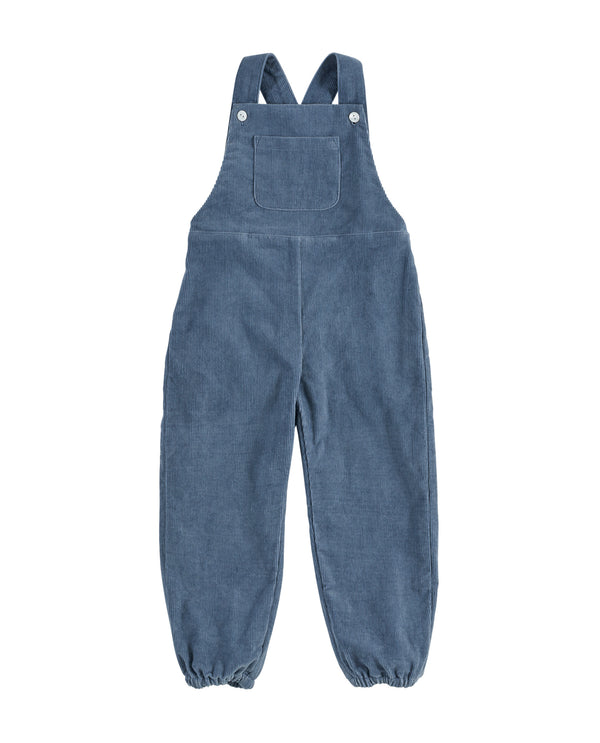 Falmouth dungarees - blue corduroy