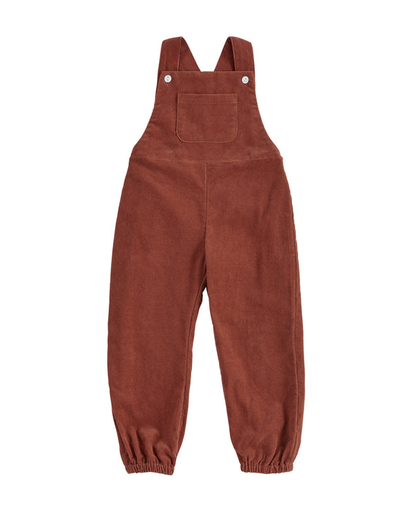 Falmouth dungarees - clay corduroy
