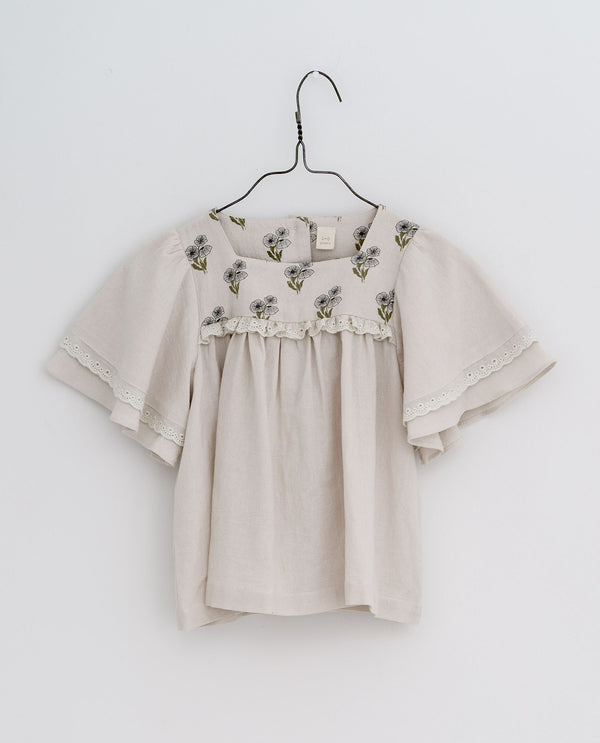Laura blouse - Poppy floral