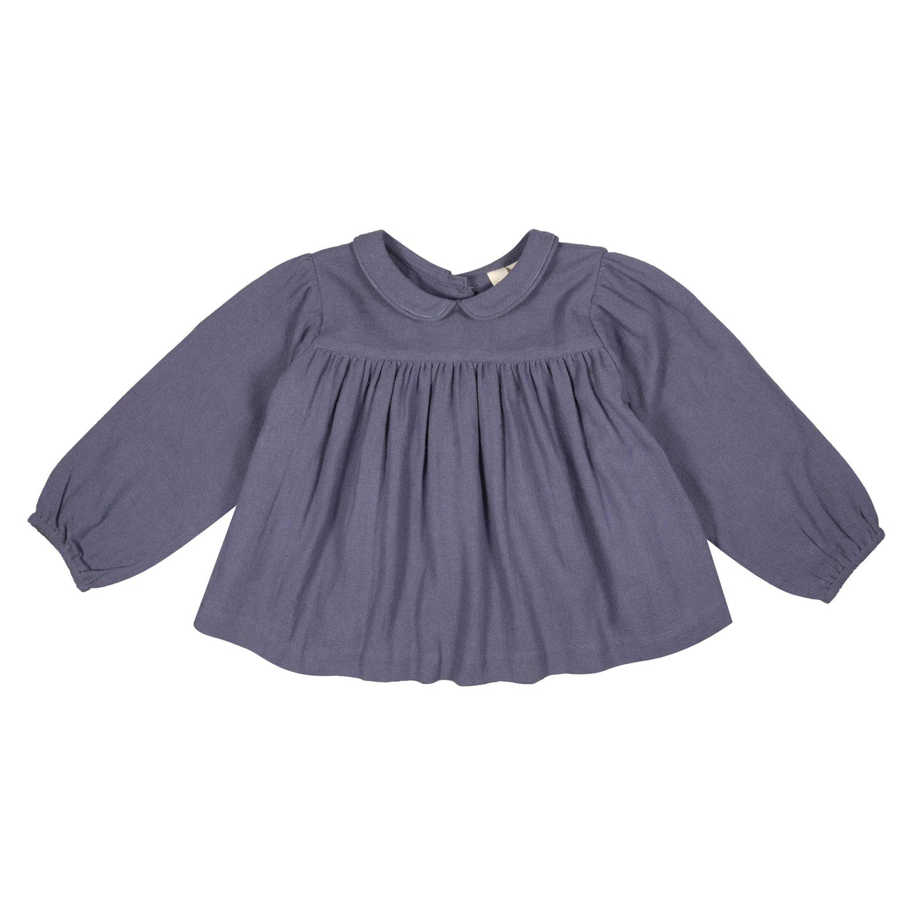 Emma Blouse - moss crepe in cloud
