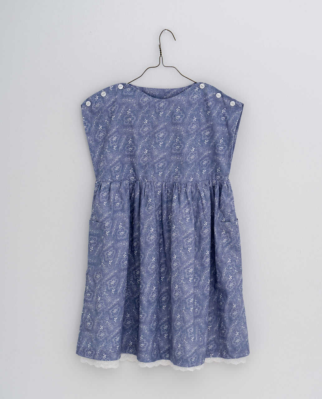 Rosie dress -  Cornflower floral