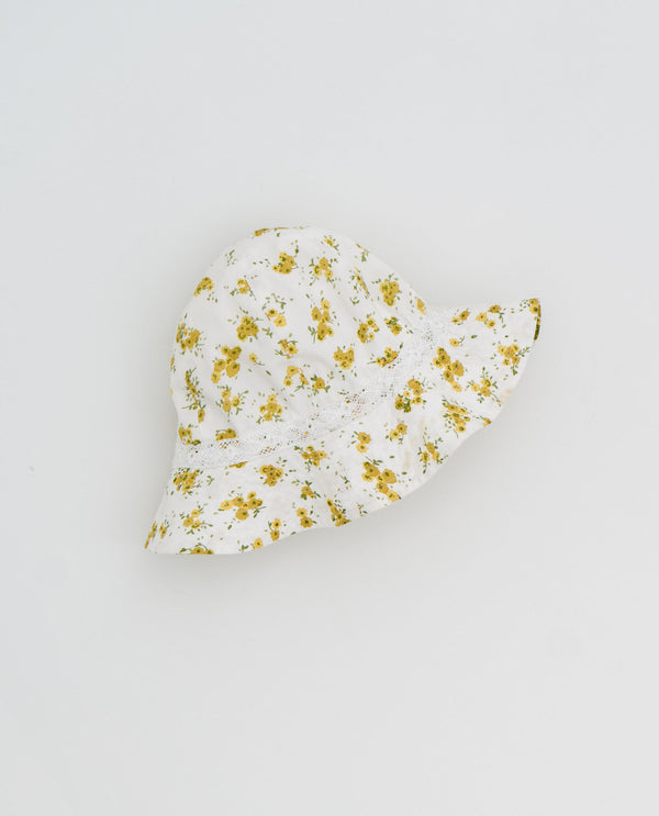 Tilly Hat - Buttercup floral