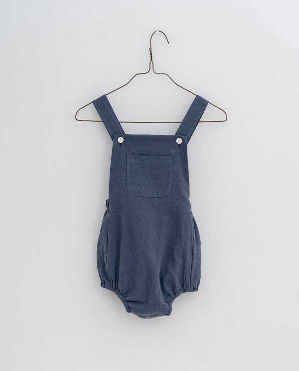 Whitby romper - Willow blue