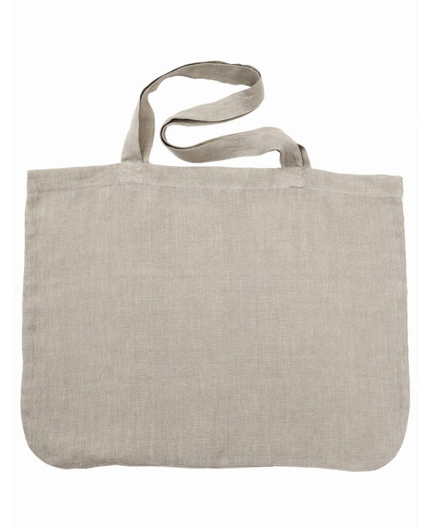 Linen Shopper - natural