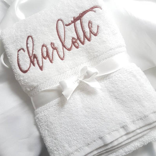 Personalised Bath/Hand Towel