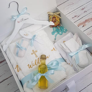 Orthodox Personalised Standard Christening Package (Choose your colours)