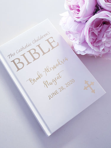 Personalised Children's Catholic Bible