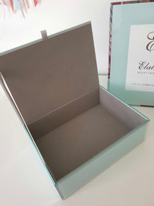 Olivia Glass Jewellery Box - 4 Colours available