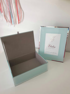 Olivia Glass Picture Frame  - 4 Colours available
