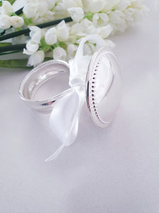 Silver Ring Baby Rattle