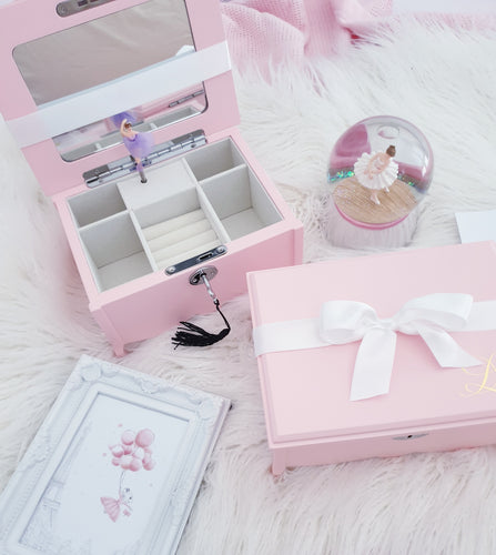 Ballerina Musical Pink Jewellery Box