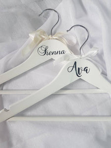 Personalised Child Coat Hanger