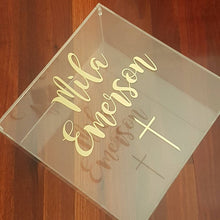 Load image into Gallery viewer, Acrylic Personalised Gift Box