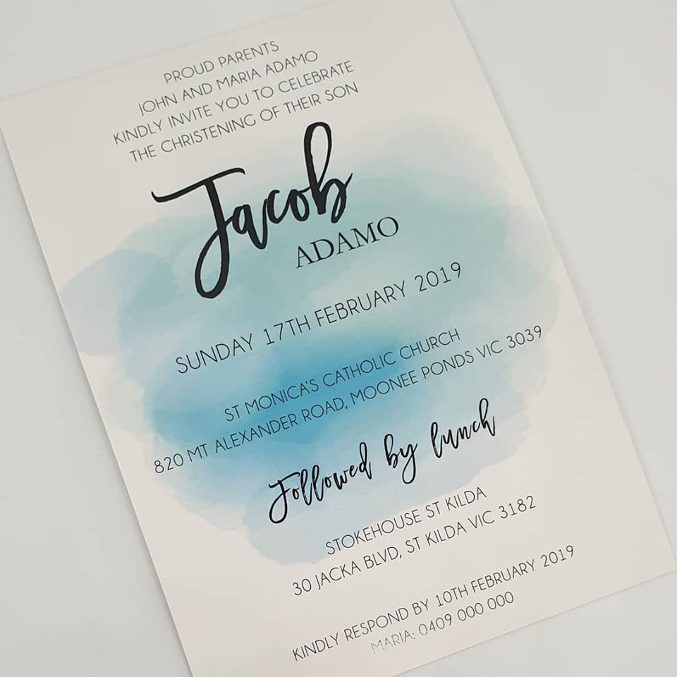 Jacob Invitation