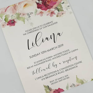 Liliana Invitation