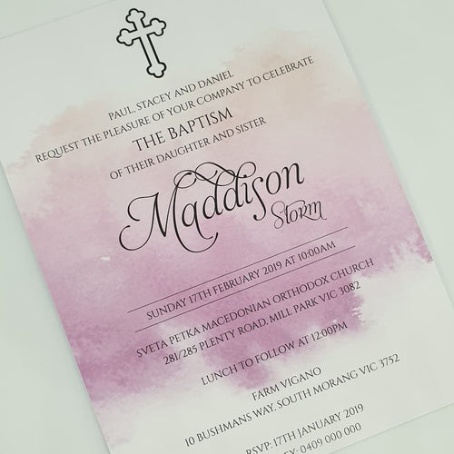 Maddison Invitation