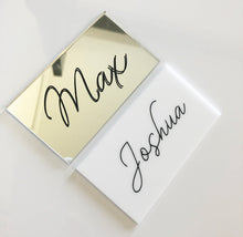 Load image into Gallery viewer, Acrylic Place Cards
