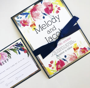 Melody & Jacob Invitation