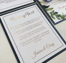 Load image into Gallery viewer, Jessica & Corey Invitation