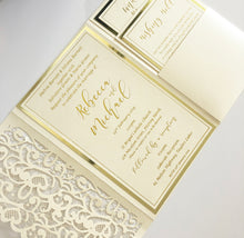 Load image into Gallery viewer, Rebecca & Michael Invitation