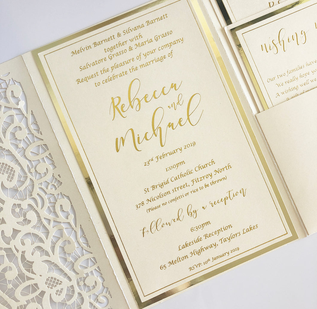 Rebecca & Michael Invitation