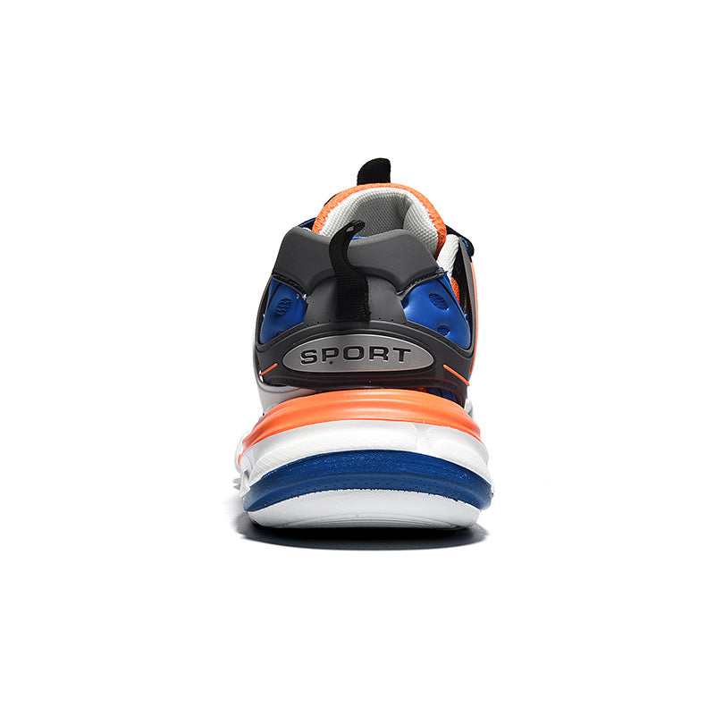 LACERATOR Deconstructed Sneakers - Blue/White/Orange