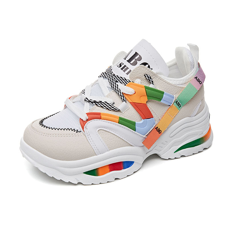 ABO Chunky Sneakers Rainbow Edition