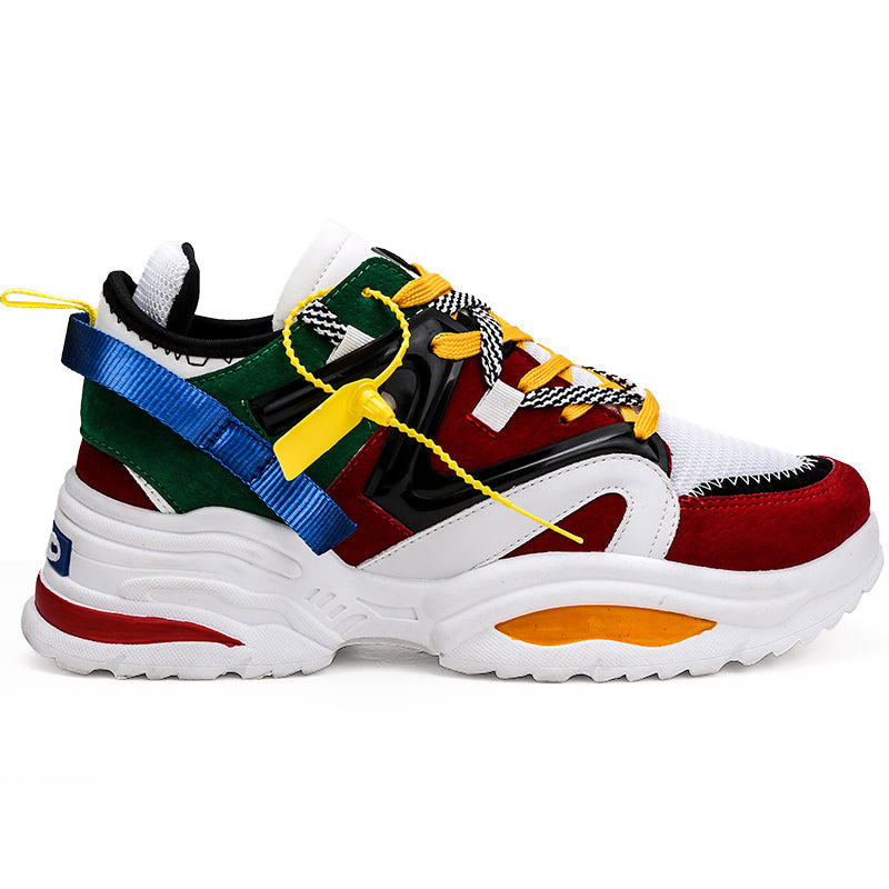 ABO Chunky Colorful Sneakers – TRENDYBAY