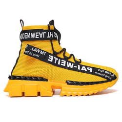 fury zr sneakers yellow