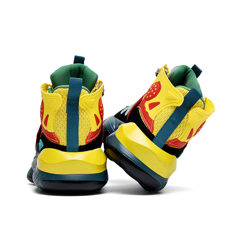 MAGMA Sneakers - Yellow/Red/Green