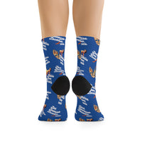 Ladies Love Locals Socks - Blue
