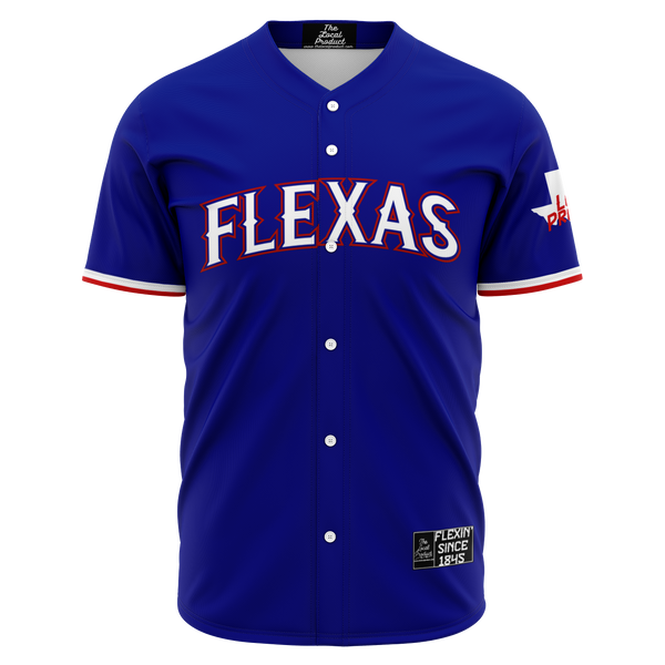 Flexas Baseball Jersey - Blue