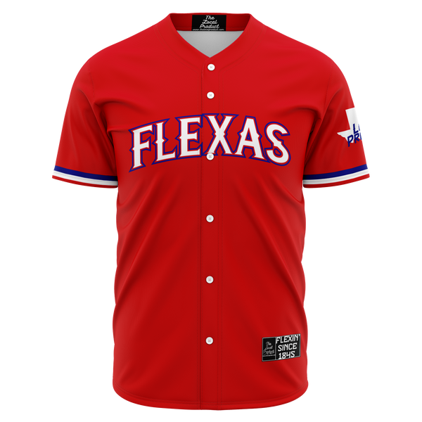 Flexas Baseball Jersey - Red