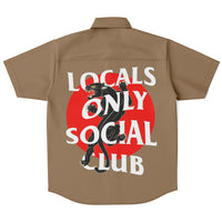 Locals Only Social Club Shirt - Khaki