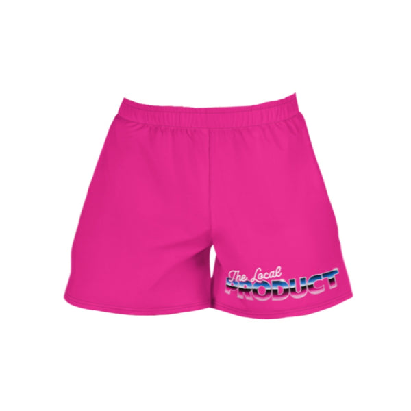 Vices Athletic Shorts Pink
