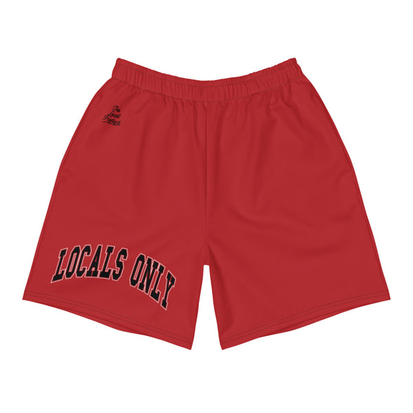 Locals Only Shorts - Red