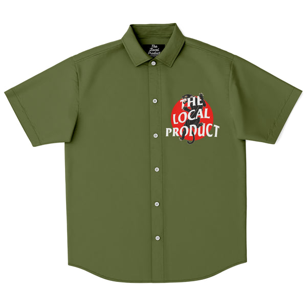 Locals Only Social Club Shirt - Olive