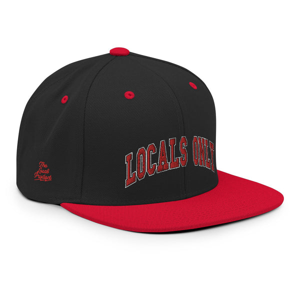 Locals Only Snapback Hat