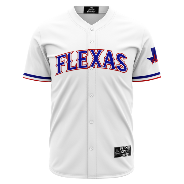 Flexas Baseball Jersey - White