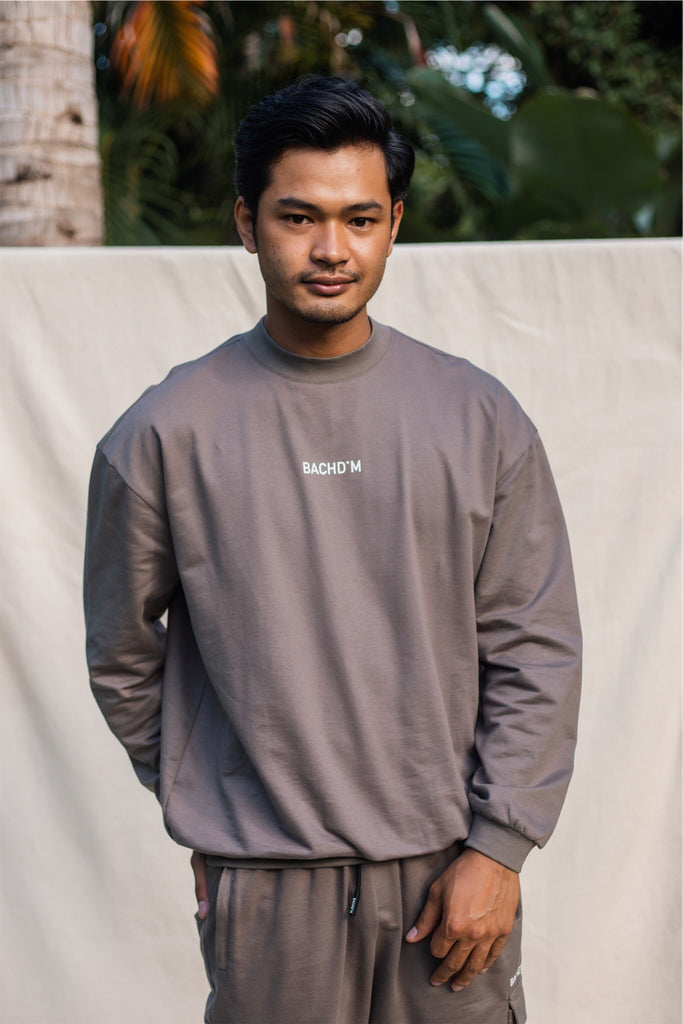Men Sweater - Khaki