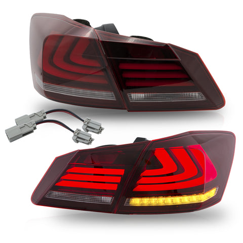 VLAND TAIL LIGHT ASSEMBLY FIT FOR 2013-2015 Honda Accord , Three Colors