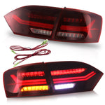 VLAND TAIL LIGHT ASSEMBLY FIT FOR 2011-2014 Volkswagen VW Jetta MK6 , Two Colors